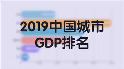 2019中国城市GDP排名