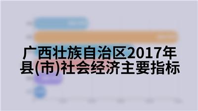 广西壮族自治区2017年县(市)社会经济主要指标
