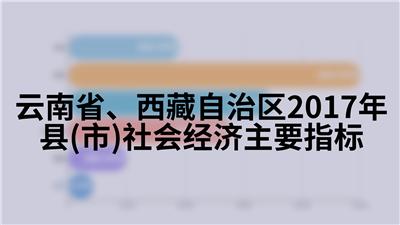 云南省、西藏自治区2017年县(市)社会经济主要指标