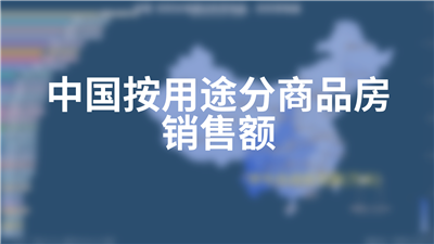 中国按用途分商品房销售额