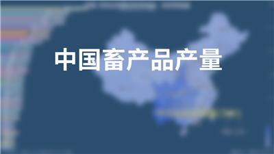 中国牲畜饲养情况