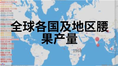 全球各国及地区腰果产量